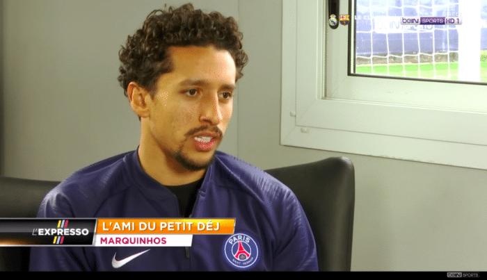 interview marquinhos bein sports    u00ab la ligue des